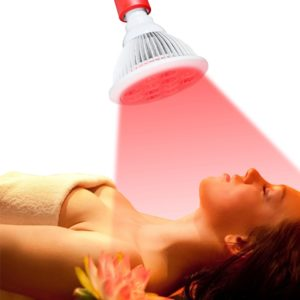 Lampada red light therapy